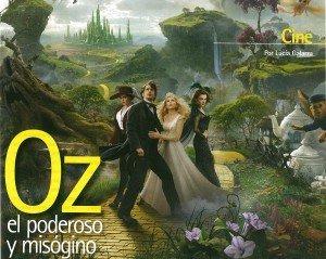 Oz el poderoso y misógino