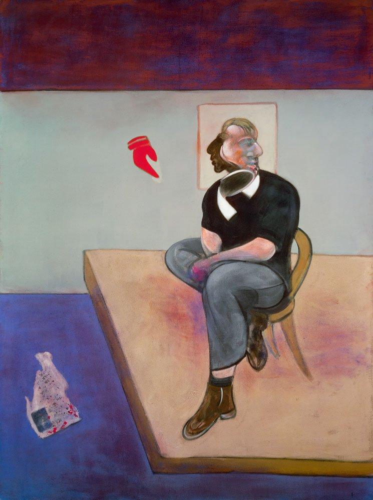 Francis Bacon. Estudio para un autorretrato, 1981.