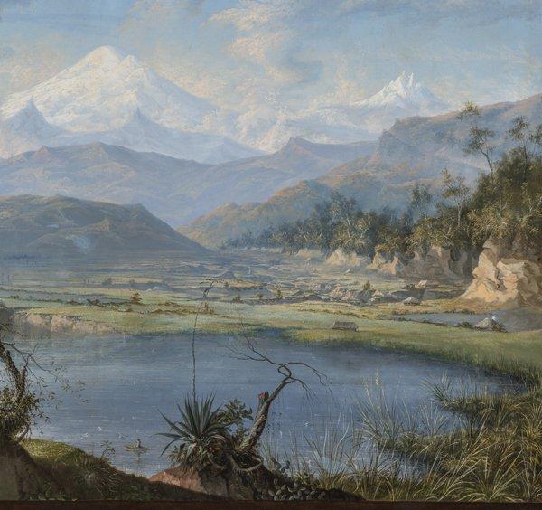 Corazón de los Andes, Rafael Salas, siglo XIX.