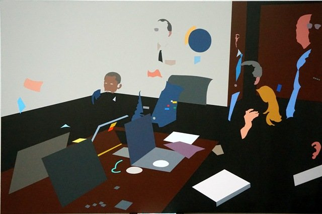 David Orbea, THE SITUATION ROOM, 2016.
