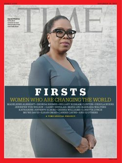 TIME y su edición especial en reconocimiento a las mujeres.