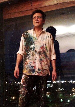En Buenos Aires en 2013, en su fase de pintor, que tiene lista una exposición de 70 cuadros.