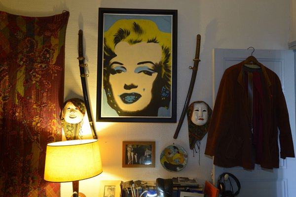 Marilyn de Warhol.