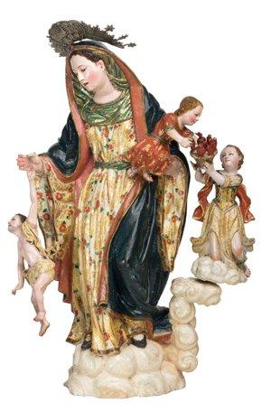Virgen de la Luz. Autor anónimo, siglo XVIII. Escultura encarnada y policromada.