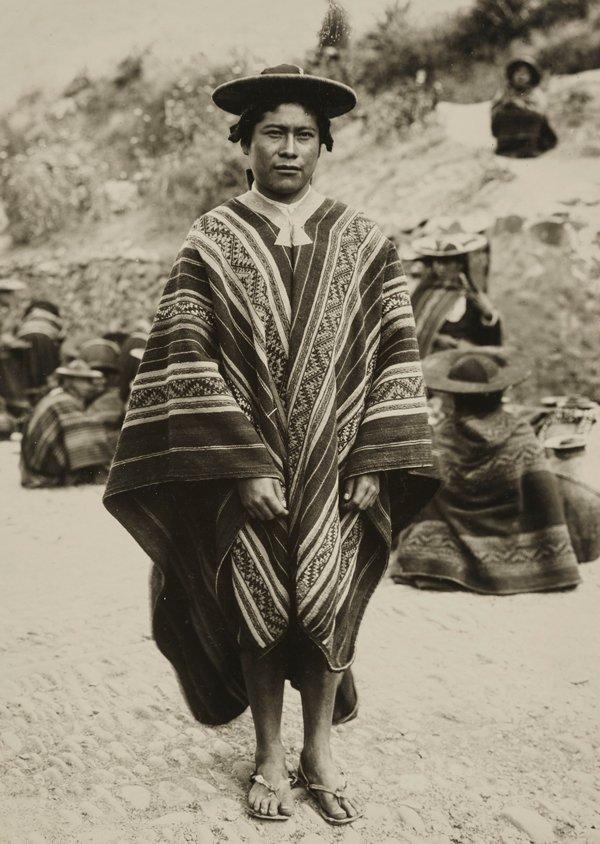 Indio de Quiquijana, Cusco, 1920-1930.