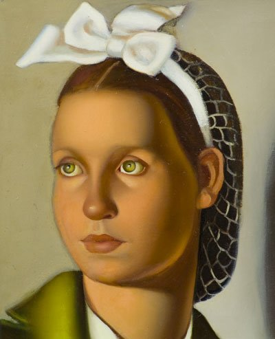 Retrato de Louisanne, 1940, lápiz sobre papel.