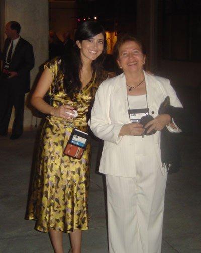 Con Dorita de Ampuero en la Mont Pelerin Society General Meeting, Guatemala en 2006.