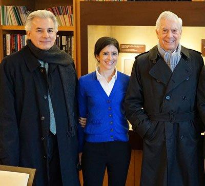 En la presentación del libro El estallido del populismo, prologado por Mario Vargas Llosa.