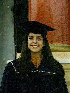 Ceremonia de graduación del colegio Menor, Quito, 1997.