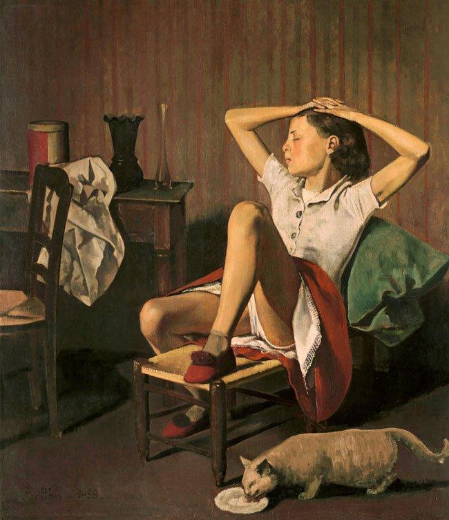 Theresa soñando, 1938.