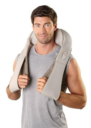 Masajeador Homedics para cuello y hombros.