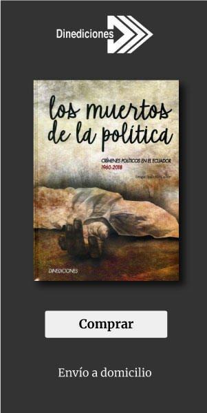 banner los muertos de la politica