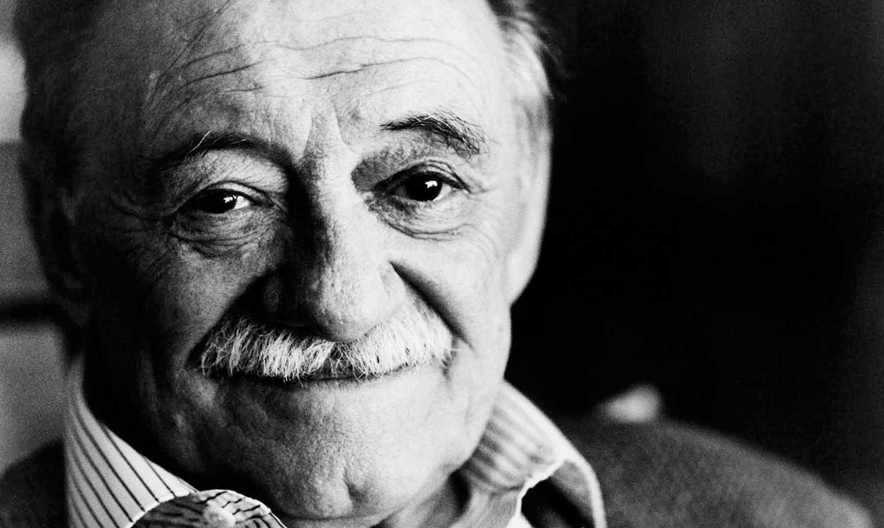 Mario Benedetti. Una parte notable de su legado son las grabaciones de poemas recitados por él mismo.
