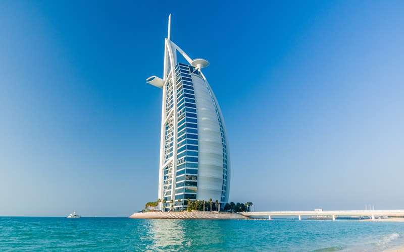 Hotel Burj Al Arab.