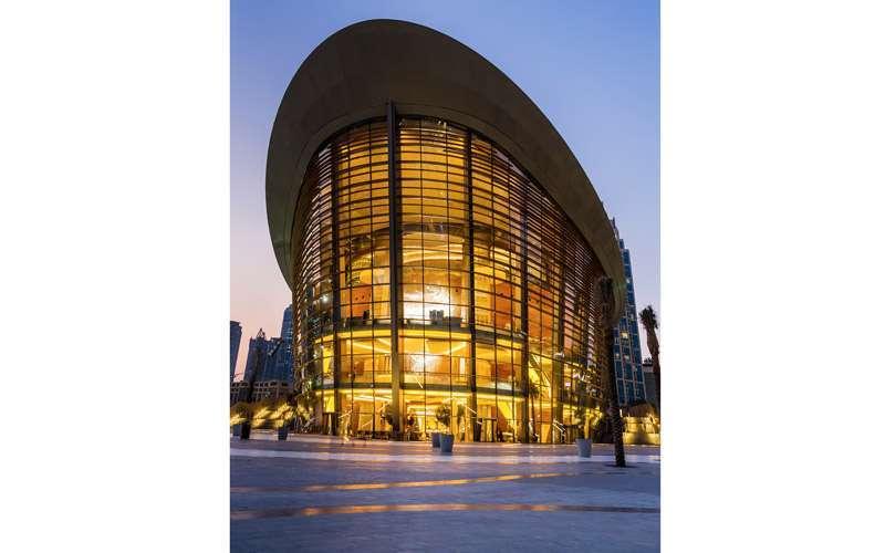 Ópera de Dubái.